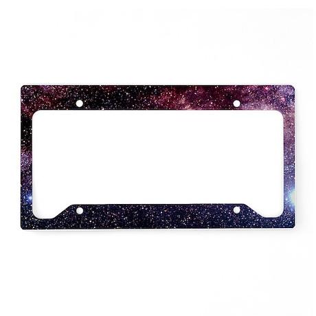 Milky Way in the constellatio License Plate Holder