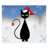 Christmas cat Luxe King Duvet Cover