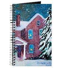 White Christmas Journal