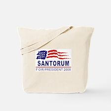 Rick Santorum 2008 (wave) Tote Bag