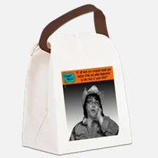 If all men are created equal... Canvas Lunch Bag