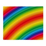 Rainbow Fleece Blankets