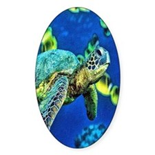 green sea turtle Decal