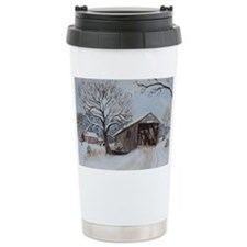 Covered Bridge Travel Mug