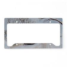 Covered Bridge License Plate Holder