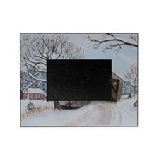 Covered Bridge Picture Frame