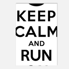 Keep Calm and Run On 26.2 Postcards (Package of 8)