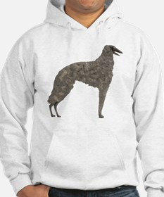 Colored Pencil Borzoi Hoodie