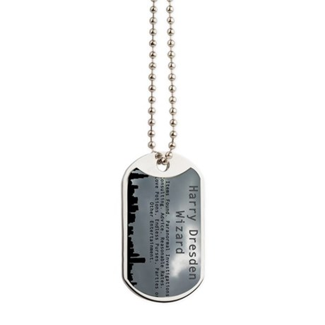Harry dresden business card dog tags by admin cp5427108 for Dog tag business cards