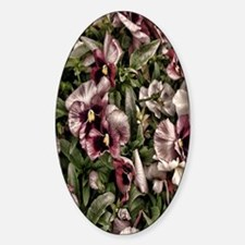 burgundy petunia Decal