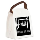 Math Canvas Lunch Bag