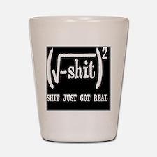 realbutton Shot Glass