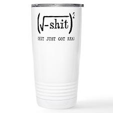REAL Travel Coffee Mug