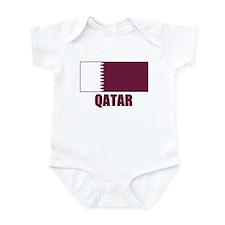 Qatar Flag Infant Bodysuit