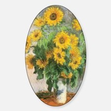 Monets Bouquet of Sunflowers Decal