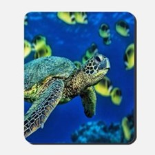 green sea turtle Mousepad