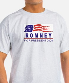 Mitt Romney 2008 (wave) T-Shirt