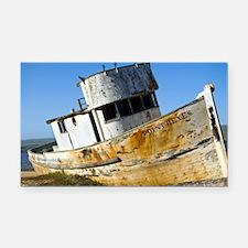 Point Reyes Boat Rectangle Car Magnet