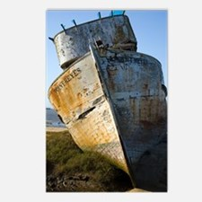 Point Reyes Boat Postcards (Package of 8)