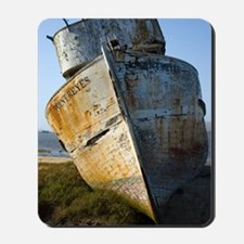 Point Reyes Boat Mousepad