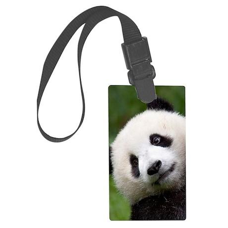 Panda Cub Large Luggage Tag