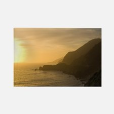 Sunset in Big Sur Rectangle Magnet