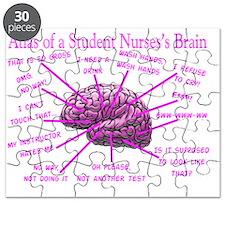 atlas student nurse brain PINK Puzzle