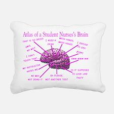 atlas student nurse brai Rectangular Canvas Pillow