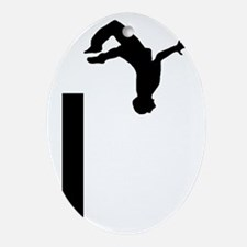 Parkour-AA Oval Ornament