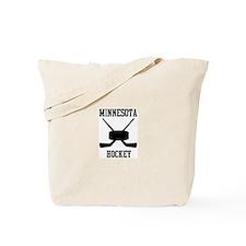 Minnesota hockey Tote Bag