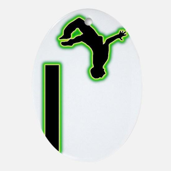 Parkour-AC Oval Ornament