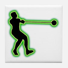 Hammer-Throw-AC Tile Coaster