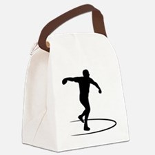 Discus-Throwing-AA Canvas Lunch Bag