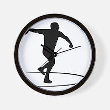 Discus-Throwing-AA Wall Clock