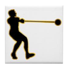 Hammer-Throw-AD Tile Coaster