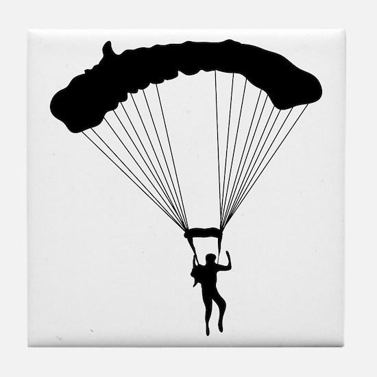 Parachuting-AA Tile Coaster