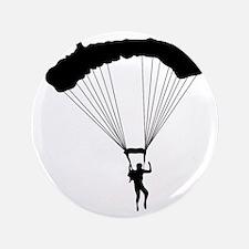 """Parachuting-AA 3.5"""" Button"""