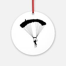Parachuting-AA Round Ornament