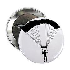 """Parachuting-AA 2.25"""" Button"""
