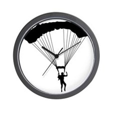 Parachuting-AA Wall Clock