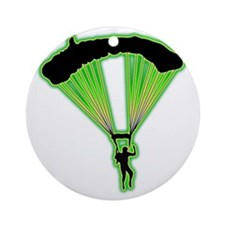 Parachuting-AC Round Ornament