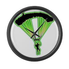 Parachuting-AC Large Wall Clock