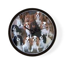 Cavalier Spaniel CKCS Group Wall Clock