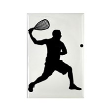 Racquetball-AA Rectangle Magnet