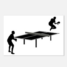 Ping-Pong-AA Postcards (Package of 8)