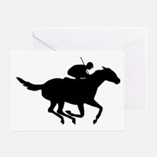 Horse-Racing-AA Greeting Card