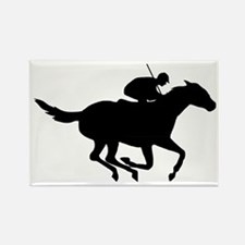 Horse-Racing-AA Rectangle Magnet