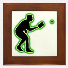 Pickleball-AC Framed Tile