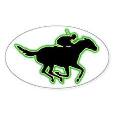 Horse-Racing-AC Decal