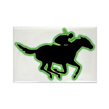 Horse-Racing-AC Rectangle Magnet